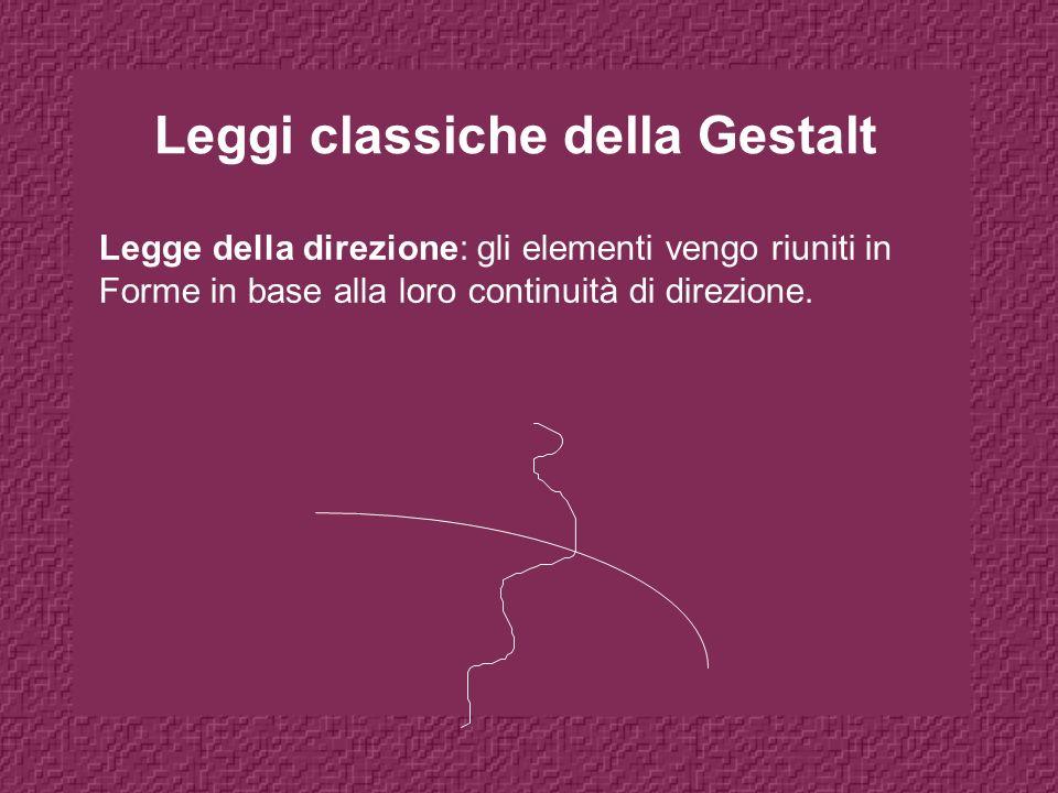 Leggi classiche della Gestalt