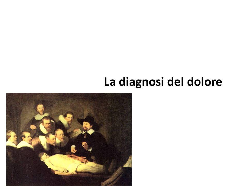 La diagnosi del dolore