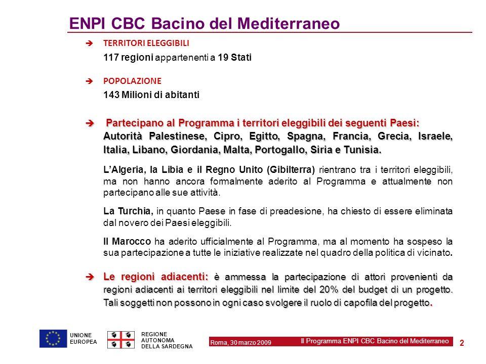 ENPI CBC Bacino del Mediterraneo