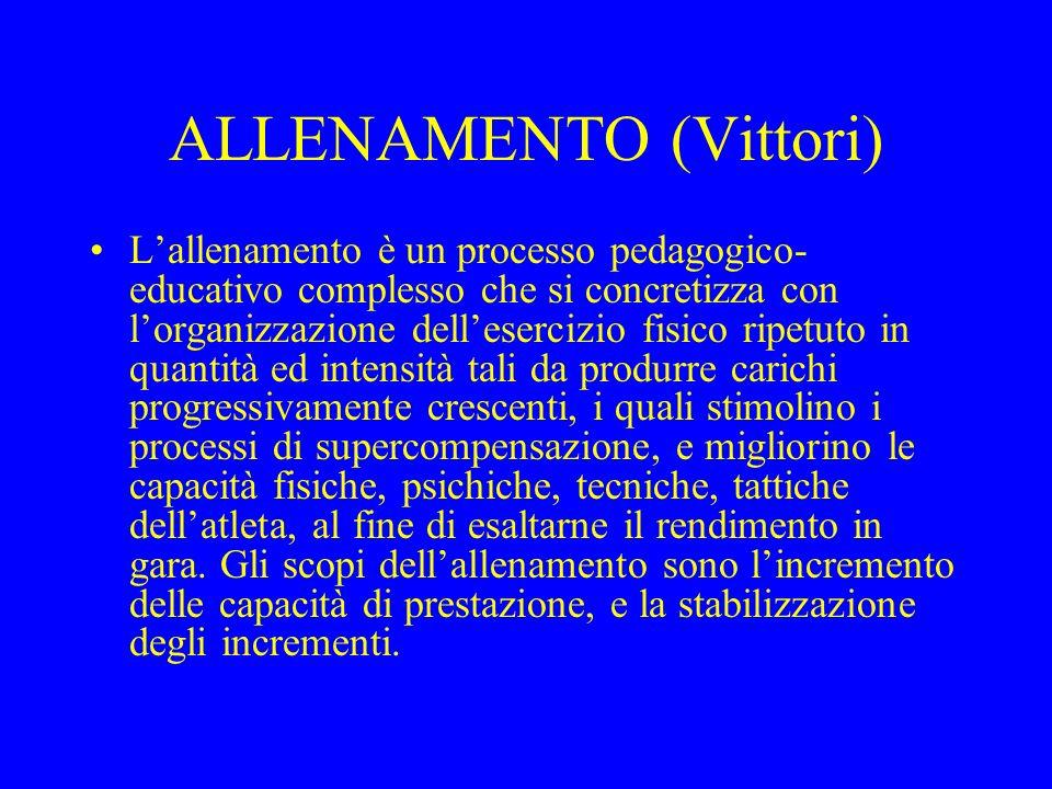 ALLENAMENTO (Vittori)