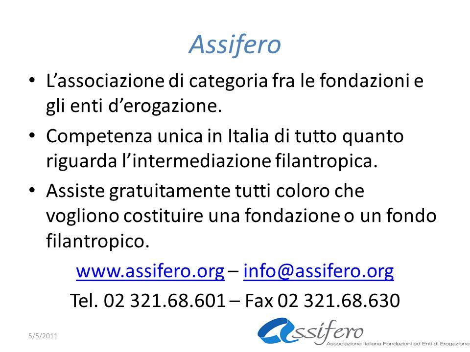 www.assifero.org – info@assifero.org