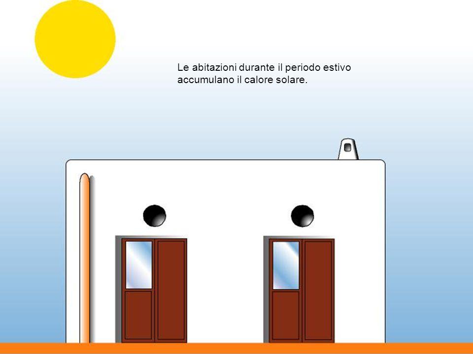 Le abitazioni durante il periodo estivo