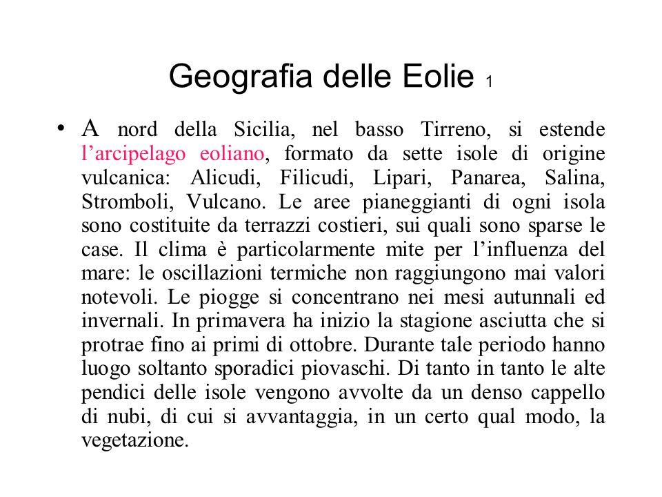 Geografia delle Eolie 1