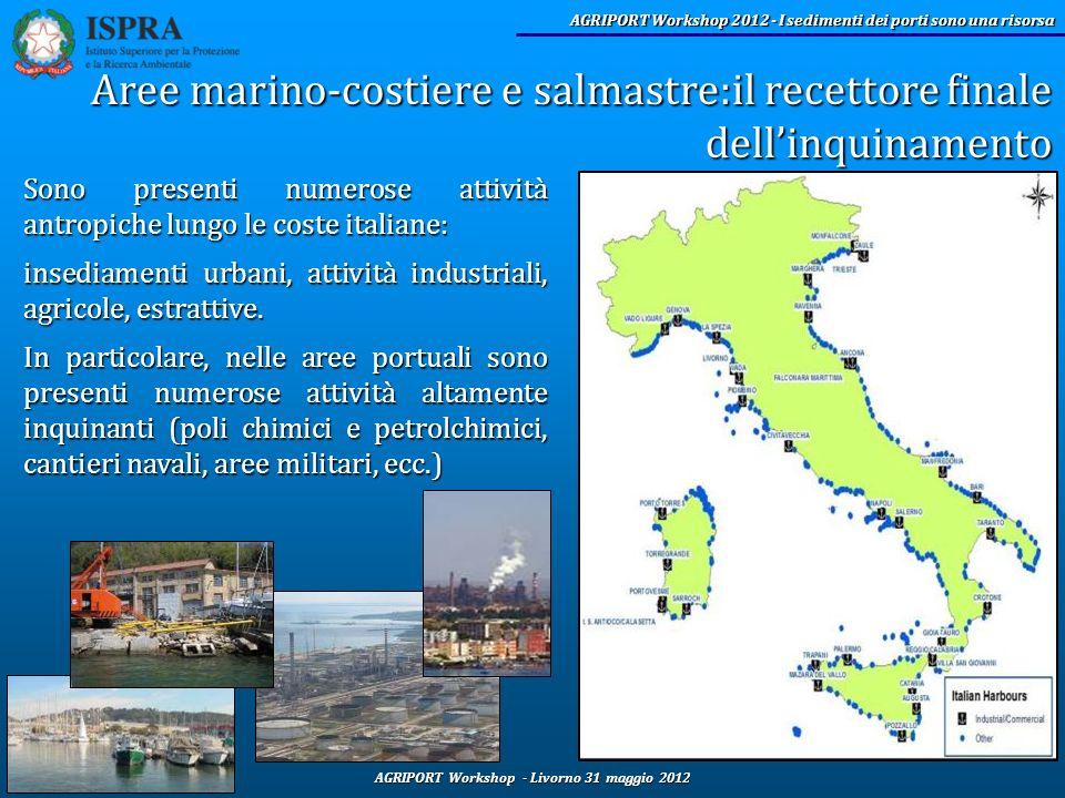 Aree marino-costiere e salmastre:il recettore finale dell'inquinamento