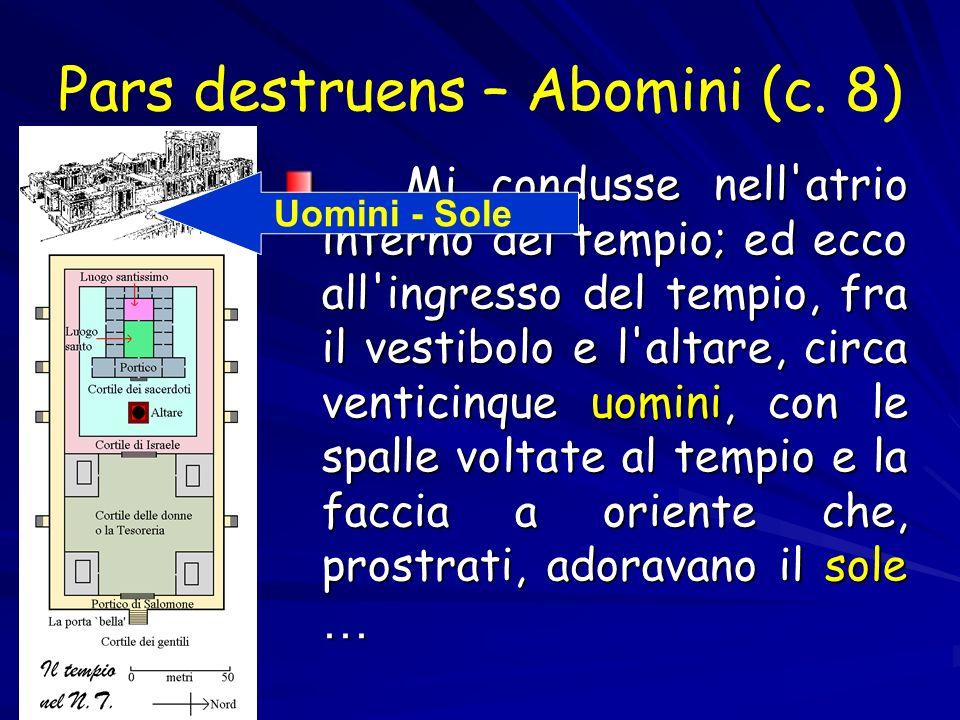 Pars destruens – Abomini (c. 8)