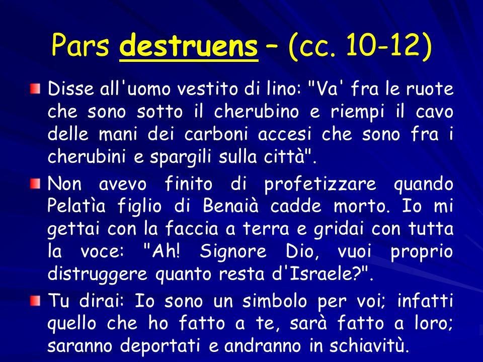 Pars destruens – (cc. 10-12)