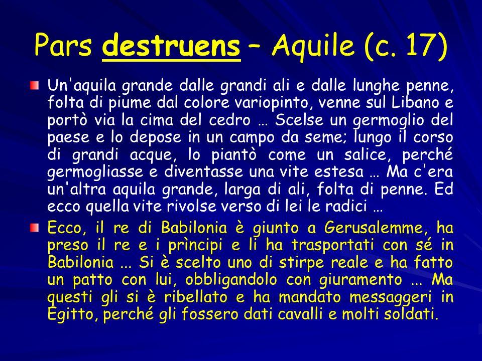 Pars destruens – Aquile (c. 17)