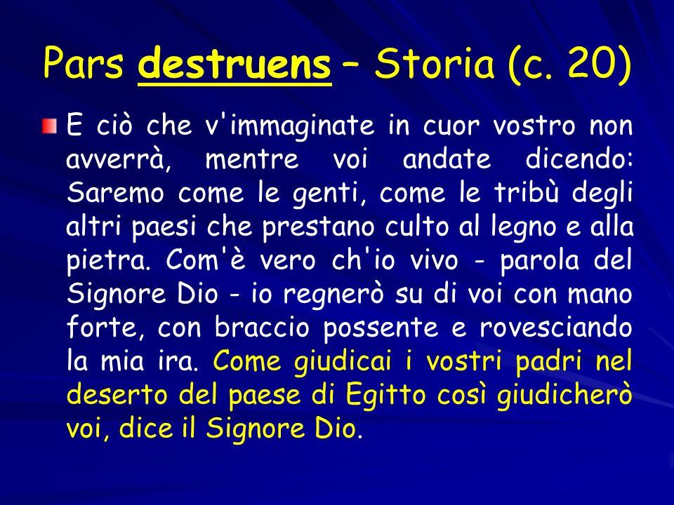 Pars destruens – Storia (c. 20)