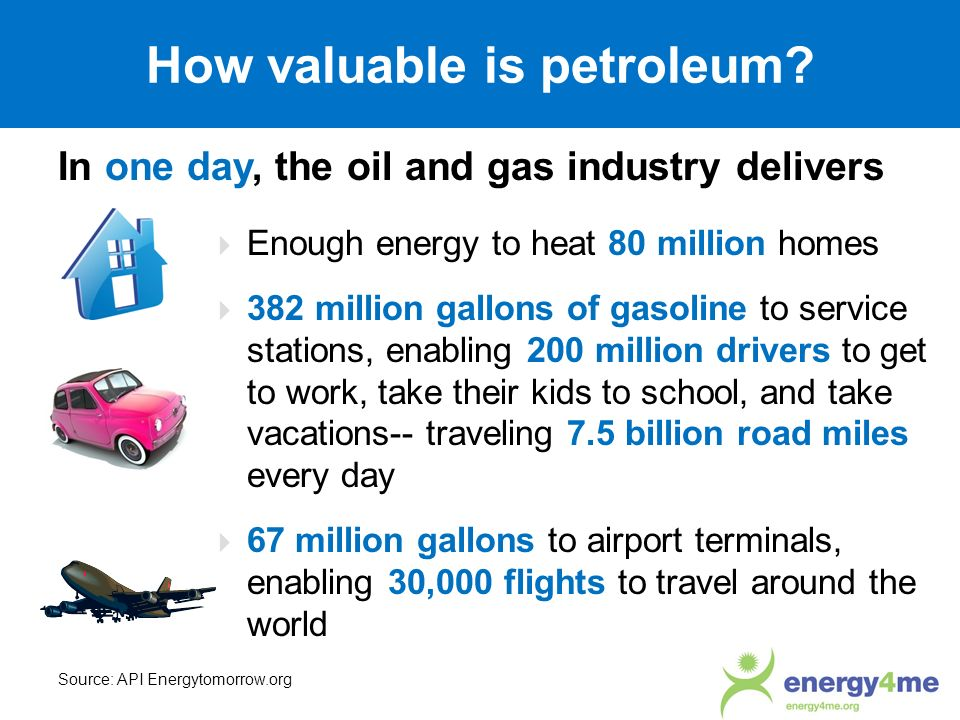 How valuable is petroleum