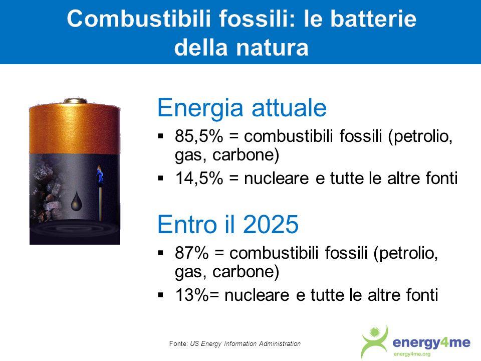 Combustibili fossili: le batterie della natura