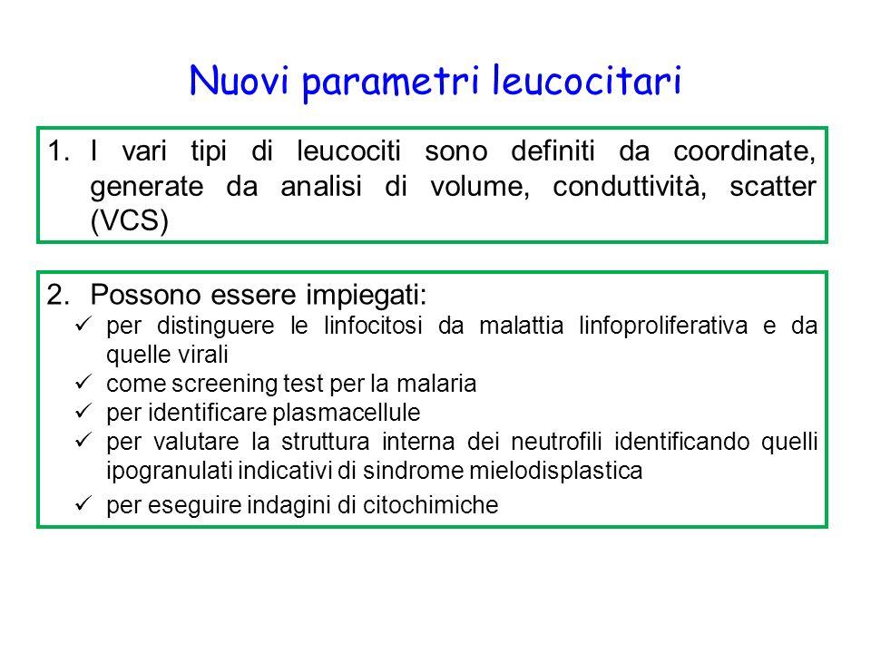 Nuovi parametri leucocitari