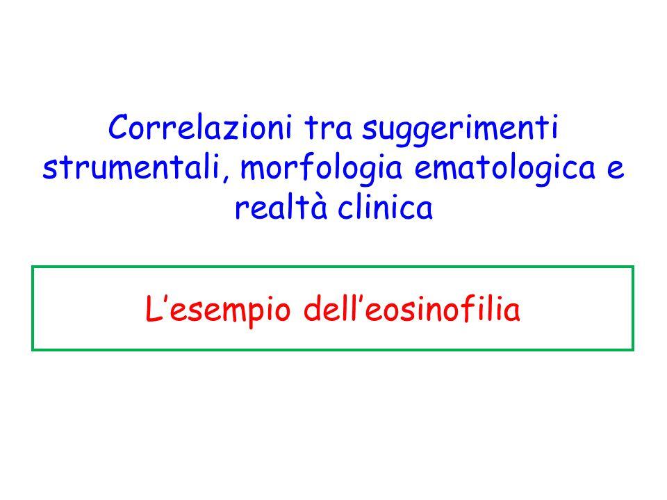 L'esempio dell'eosinofilia