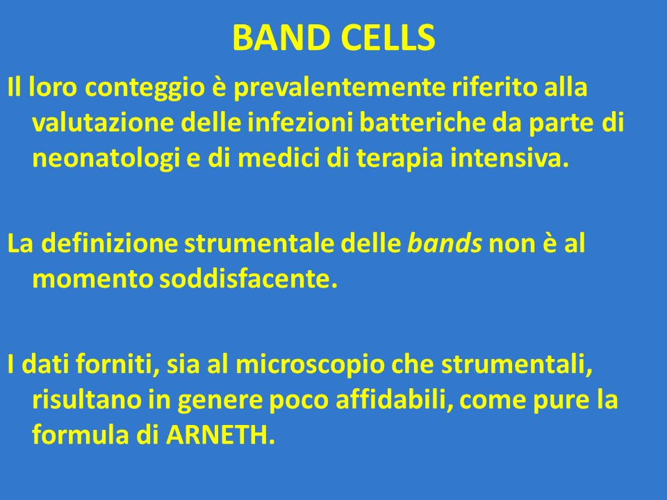 BAND CELLS