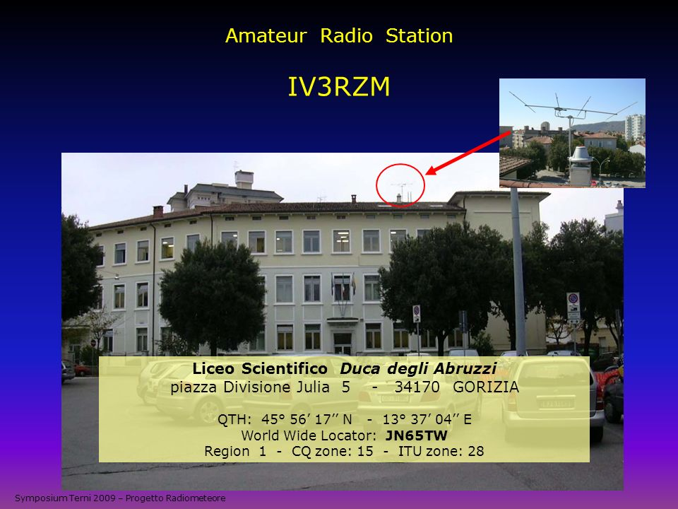 Amateur Radio Station IV3RZM