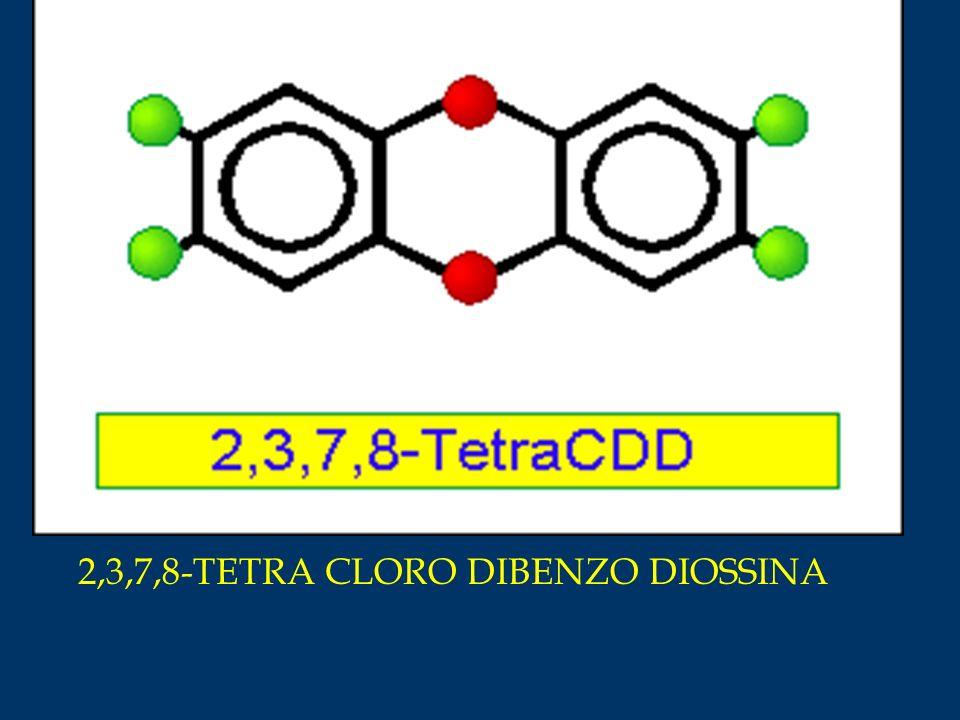 2,3,7,8-TETRA CLORO DIBENZO DIOSSINA