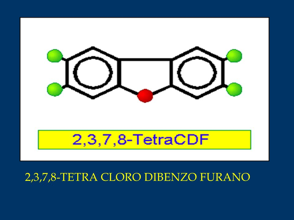 2,3,7,8-TETRA CLORO DIBENZO FURANO