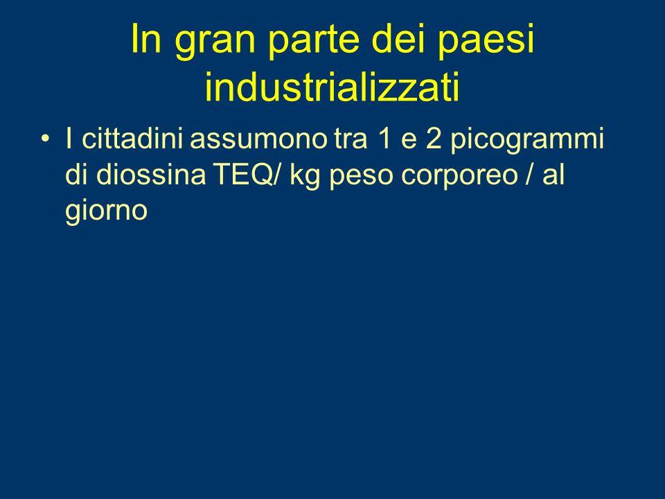 In gran parte dei paesi industrializzati