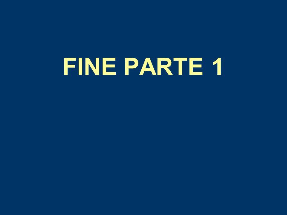 FINE PARTE 1