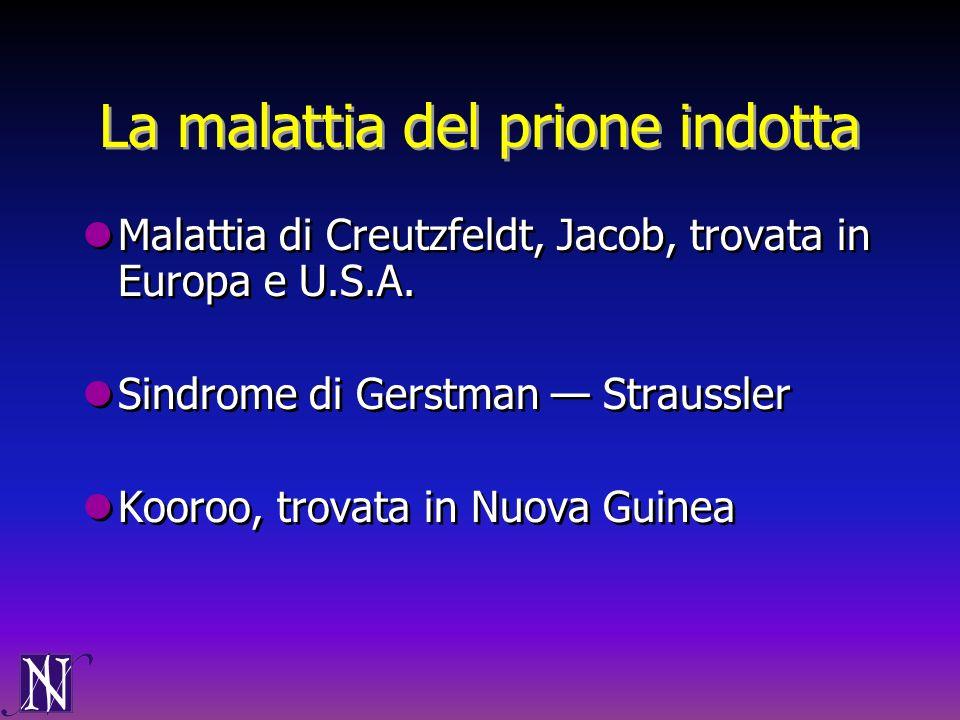La malattia del prione indotta