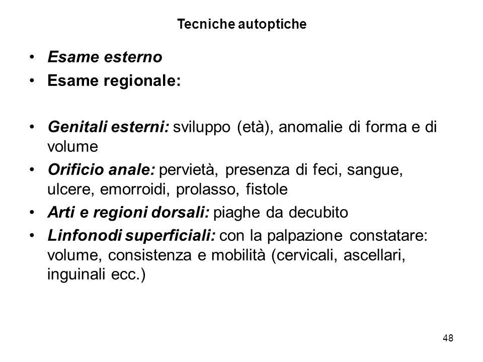 Genitali esterni: sviluppo (età), anomalie di forma e di volume