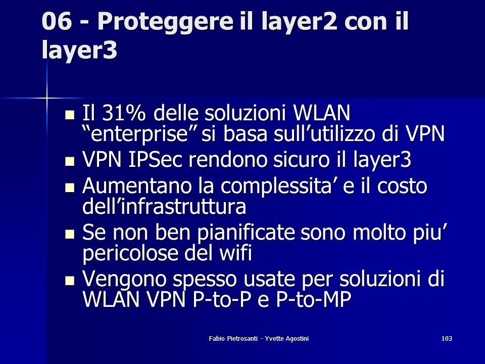 06 - Proteggere il layer2 con il layer3