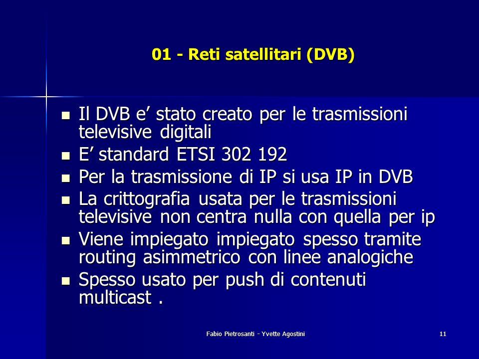 01 - Reti satellitari (DVB)
