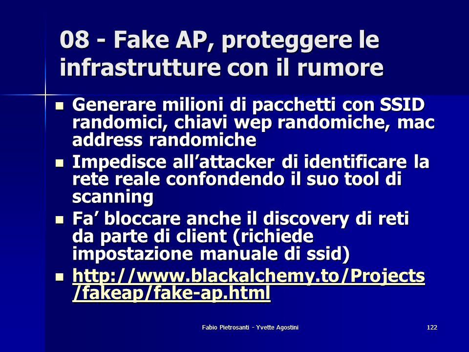 08 - Fake AP, proteggere le infrastrutture con il rumore