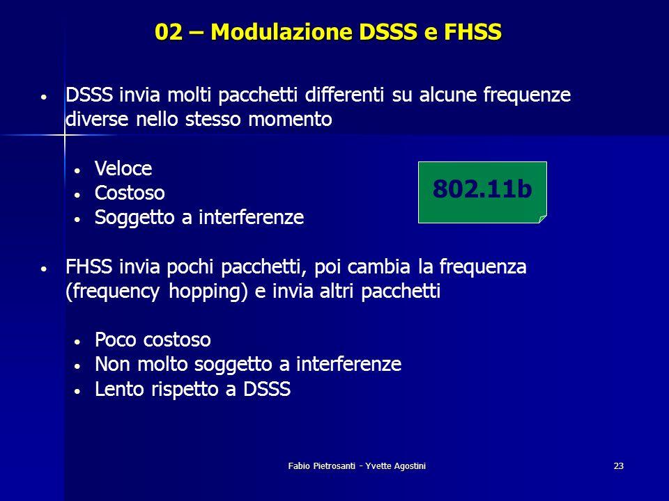 02 – Modulazione DSSS e FHSS