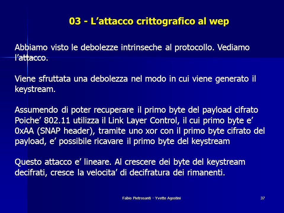 03 - L'attacco crittografico al wep