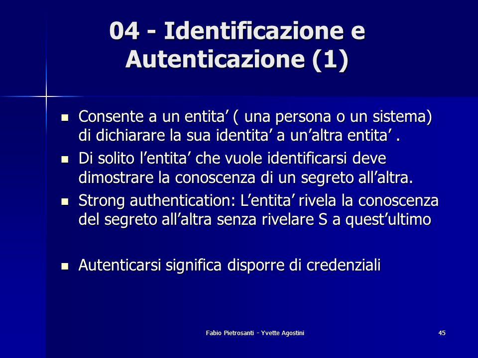 04 - Identificazione e Autenticazione (1)