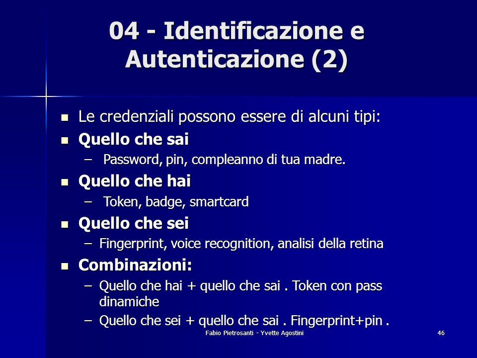 04 - Identificazione e Autenticazione (2)