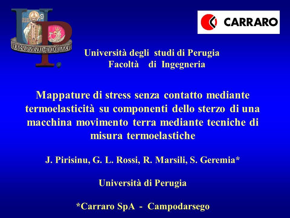 J. Pirisinu, G. L. Rossi, R. Marsili, S. Geremia*