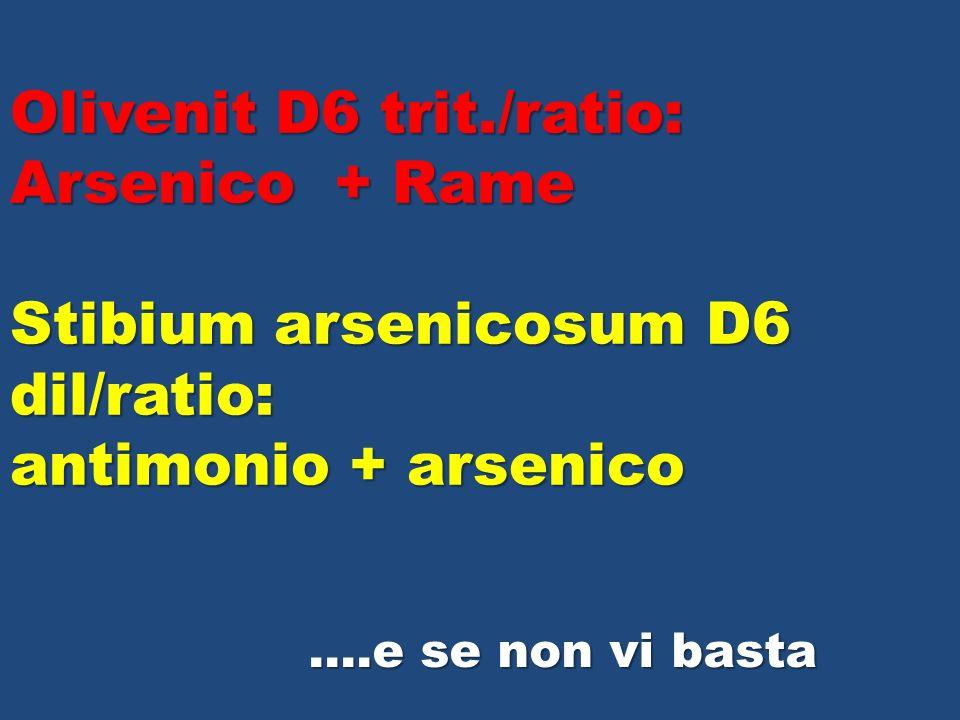 Olivenit D6 trit./ratio: Arsenico + Rame