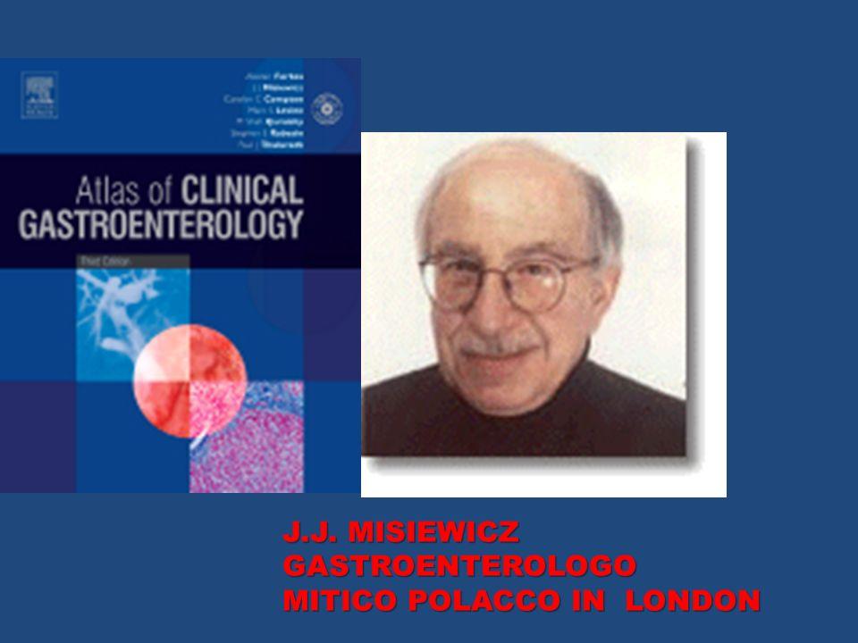 J.J. MISIEWICZ GASTROENTEROLOGO MITICO POLACCO IN LONDON