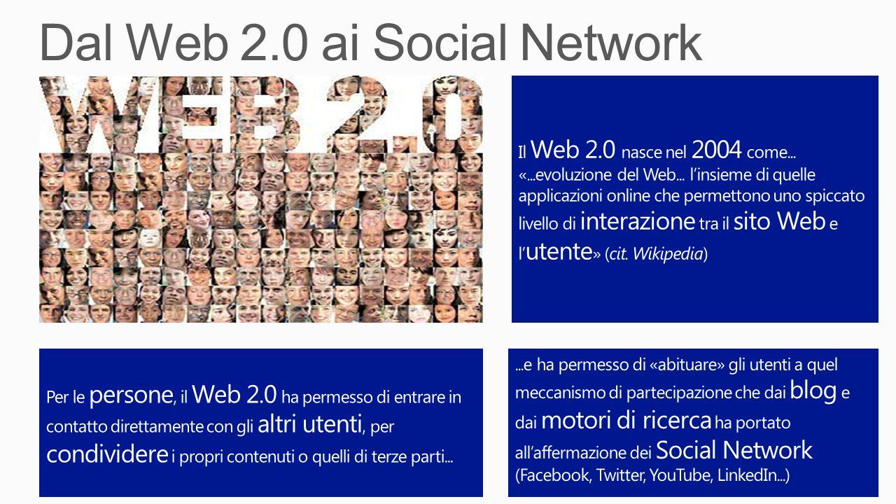 Dal Web 2.0 ai Social Network