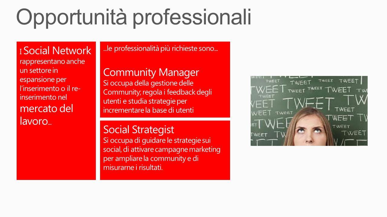 Opportunità professionali