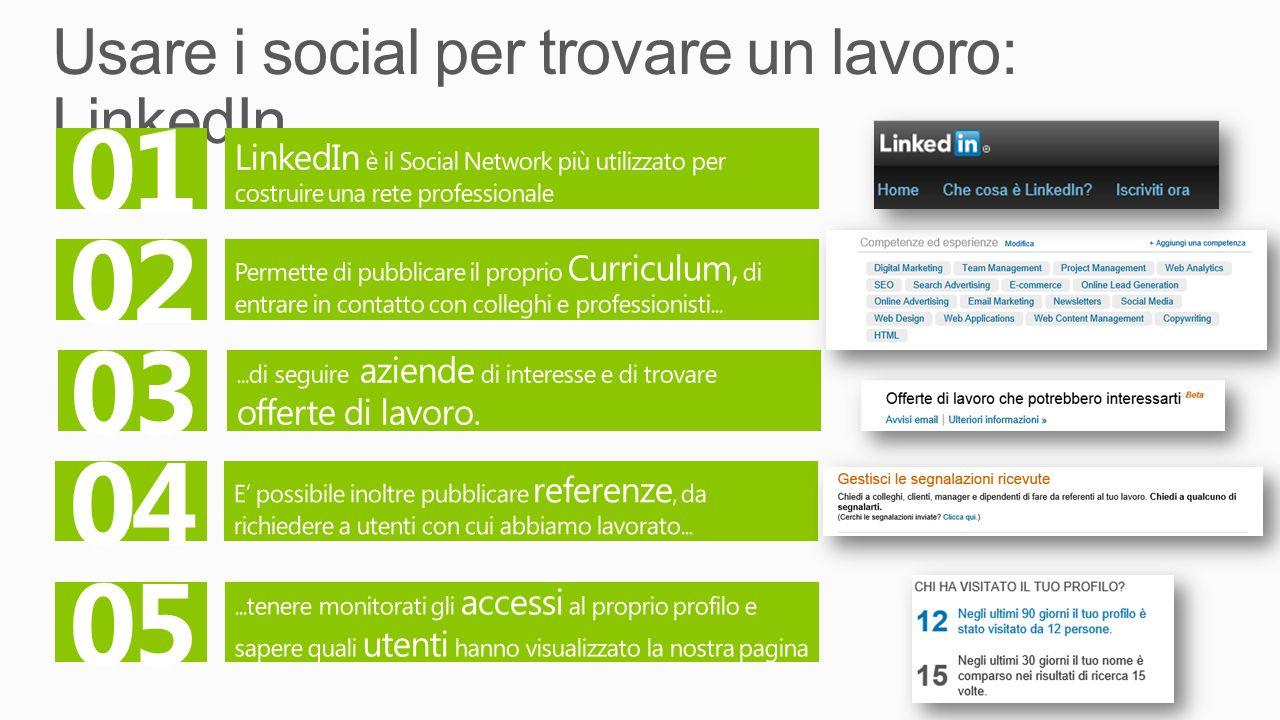 Usare i social per trovare un lavoro: LinkedIn