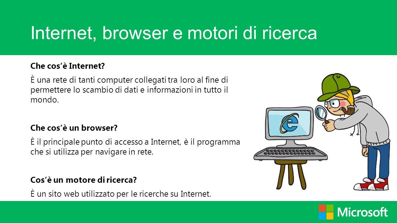 Internet, browser e motori di ricerca