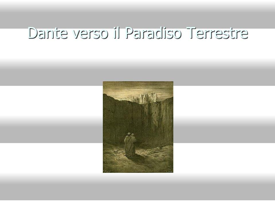 Dante verso il Paradiso Terrestre