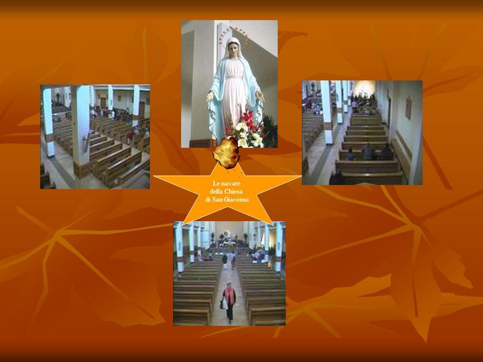 Le navate della Chiesa di San Giacomo
