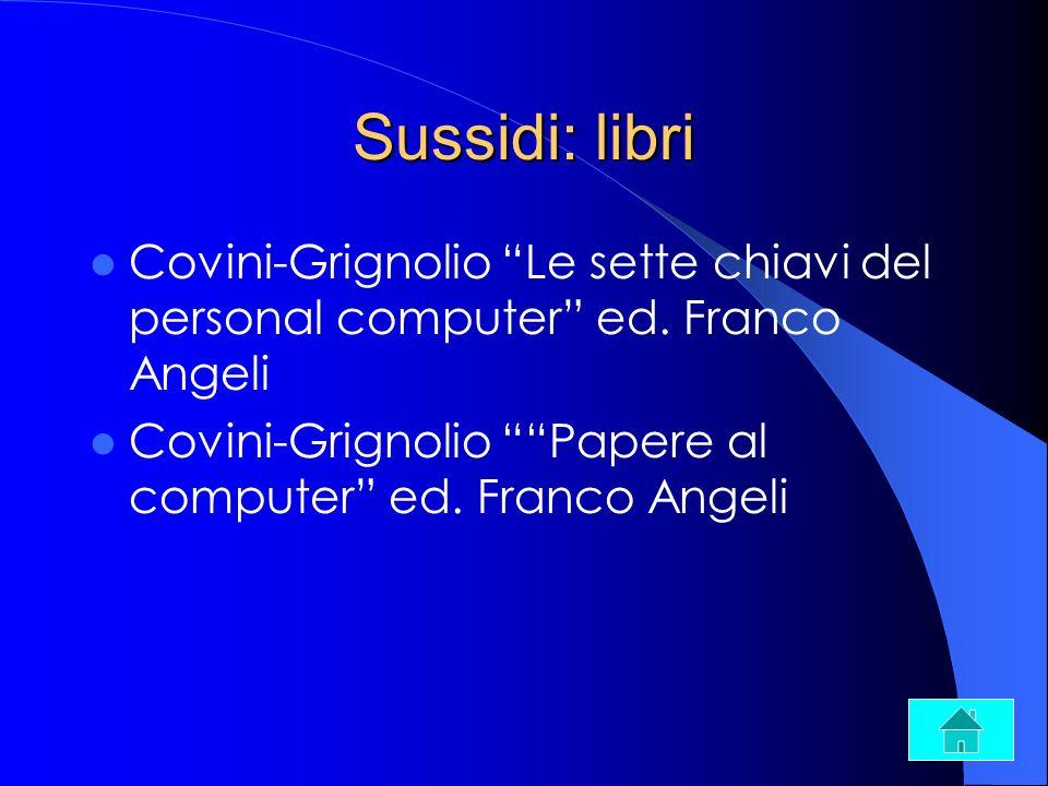 Sussidi: libriCovini-Grignolio Le sette chiavi del personal computer ed.