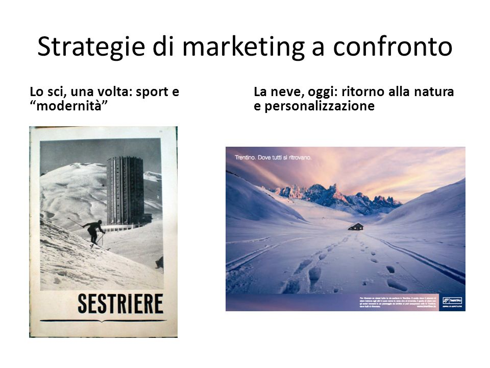 Strategie di marketing a confronto