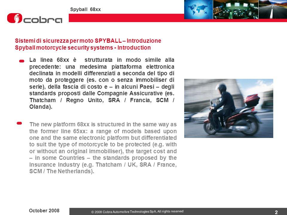 Sistemi di sicurezza per moto SPYBALL – Introduzione