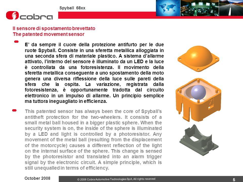 Il sensore di spostamento brevettato