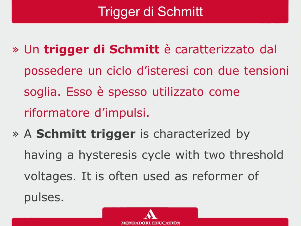 Trigger di Schmitt