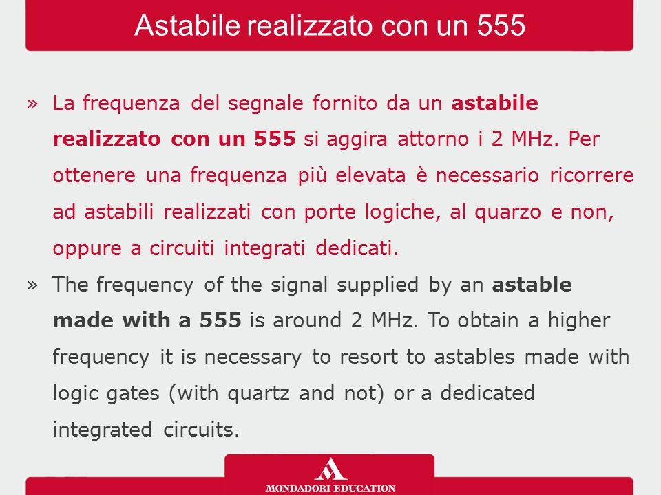 Astabile realizzato con un 555