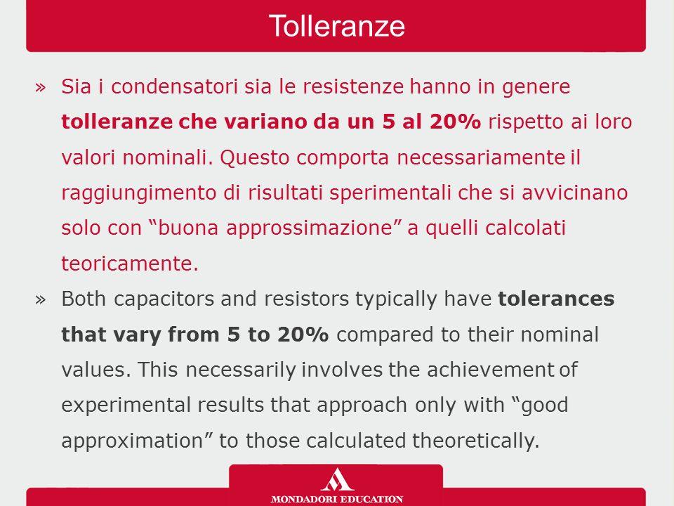 Tolleranze