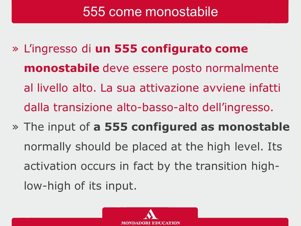 555 come monostabile