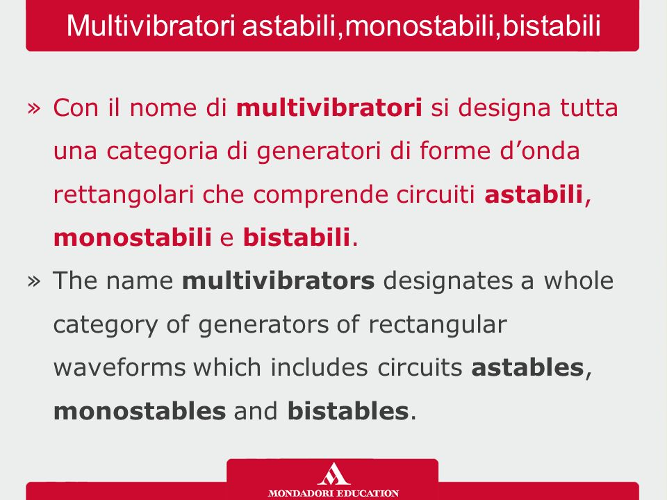 Multivibratori astabili,monostabili,bistabili