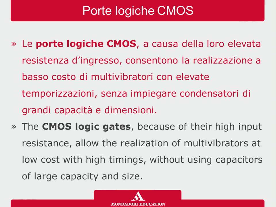 Porte logiche CMOS